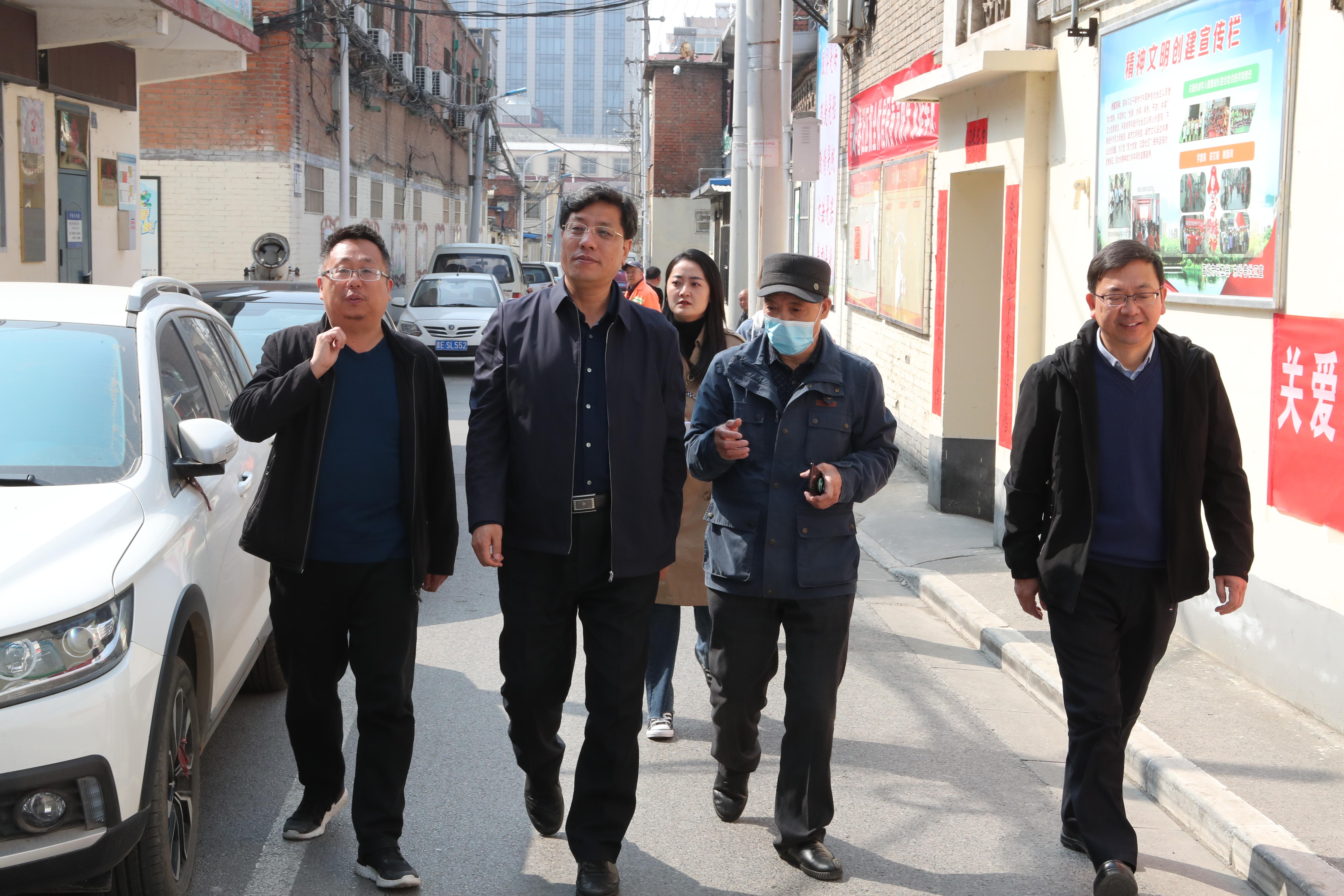 """市总工会与""""联点共建""""东岭巷社区开展新一轮思想解放大讨论交流活动"""