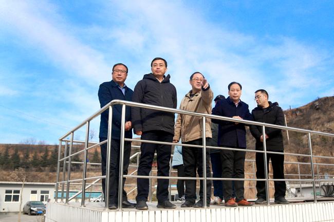 武健鹏在阳城县督查秋冬季大气污染综合治理情况