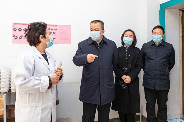 刘锋深入市疾控中心调研指导疫情防控工作