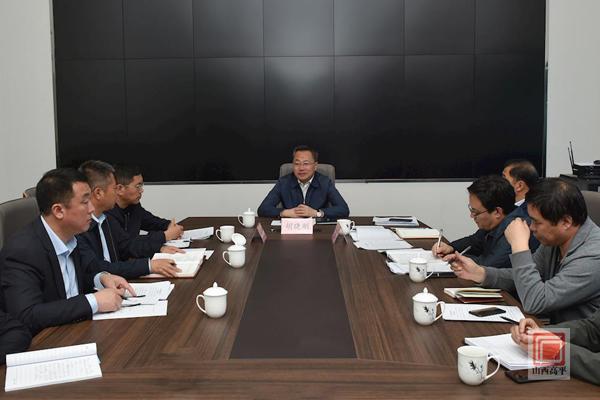 胡晓刚在台湾产业园调研